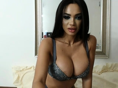 Hot big boobs amateur babe in glasses fucked by pawn man