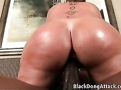 Curvy Sara Jay makes black cock feel so good