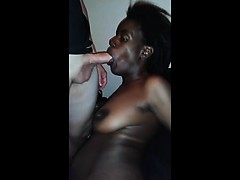 Alice wanted a big cock to suck and a stellar blowjob