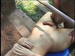 Sexy shemale sticks her hard cock in guys tight asshole