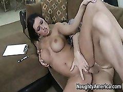 Shaved pussy pornstar screwed