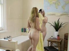 Showering lesbian aussies