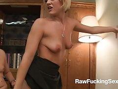 Raw Fucking Sex - Naughty Blonde Jasmine Jolie Fucked On Her