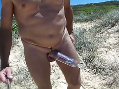beach cockring pump