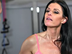 Hot milf india summer nasty trio