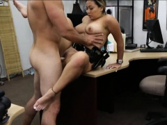 Police officer pawns her pussy and got pounded for money