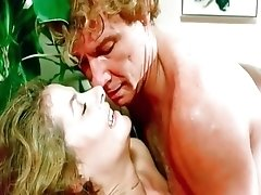 Vintage beauty girls are being seduced by retro dudes to fuck at party