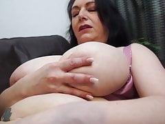 Busty natural mature mother needs a good fuck