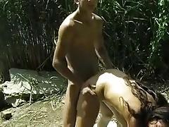 big boob hooker fucked outdoor