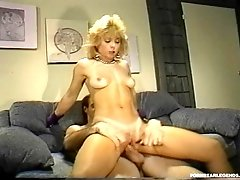 Young Nina Hartley fucked hard
