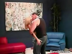 Big breasted slut with skinny body rides part3