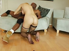 JR interracial with anal creampie