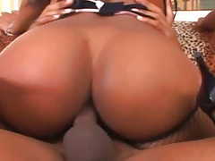 Sexy Black Chick Butt Fucked