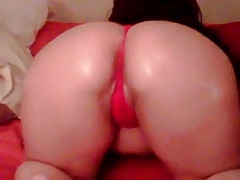 Big Oiled Ass Tease